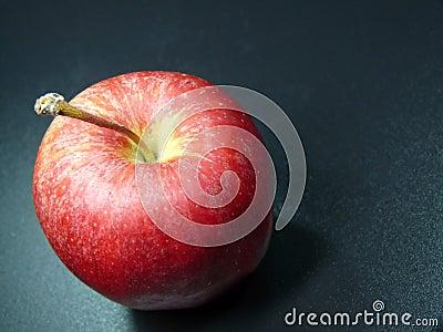 Pomme rouge mûre