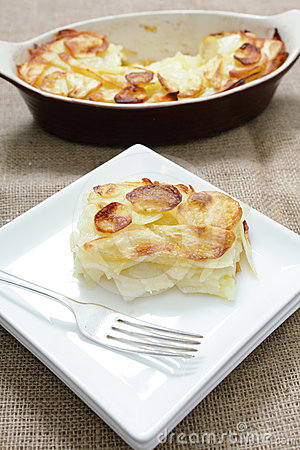 Pommes de terre Anna de portion