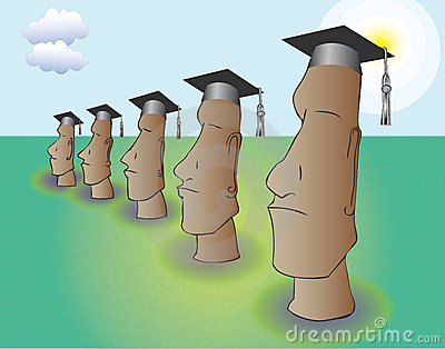 Pomp and Circumstance Easter Island style