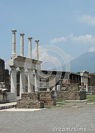 Free Pompei Royalty Free Stock Photo - 32596405