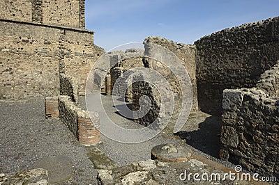 Pompei, ruins