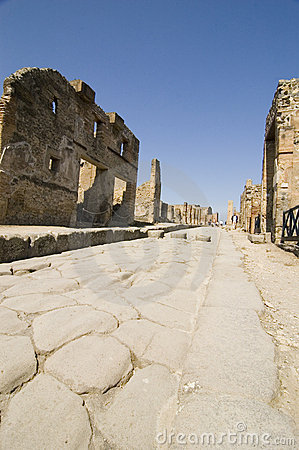 Free Pompei_Roman_Antiquites Royalty Free Stock Photography - 661527