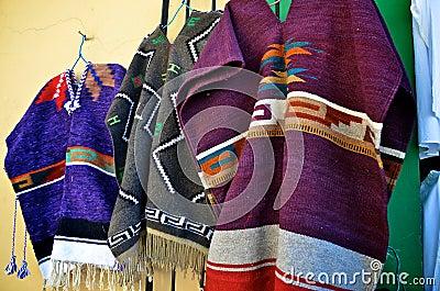 Ponchos mexicanos