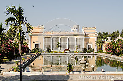 Pond, Chowmahalla Palace, Hyderabad