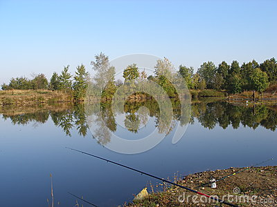 Pond for fishing