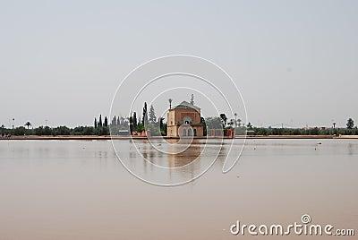 Pond At Menara