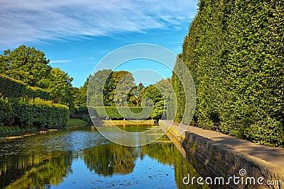 Pond in Oliwa