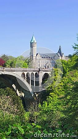 Pont моста adolphe