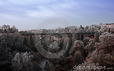 Pont Adolphe(Adolphe bridge)