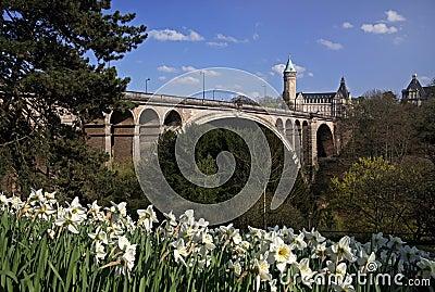 Pont Adolphe Bridge Luxembourg