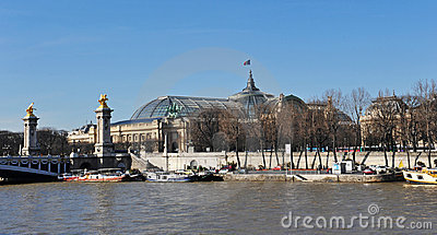 Pont Alexander III and the Grand Palais