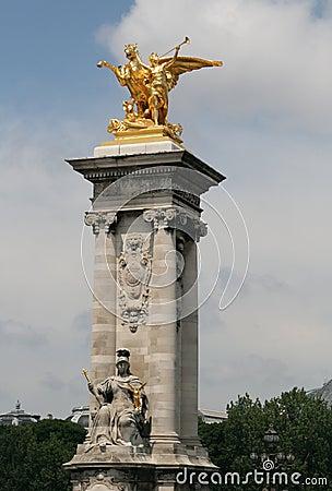 Pont Alexander III, Paris