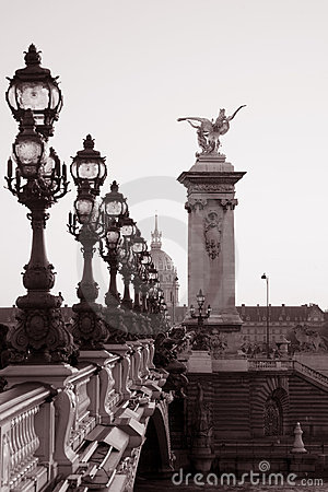 Pont Alexandre III Bridge, Paris