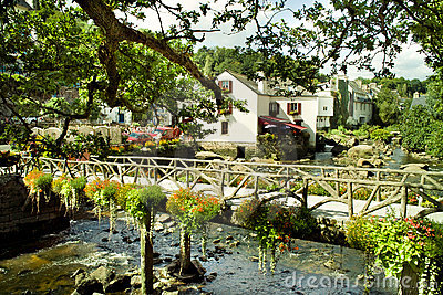 Pont aven in brittany