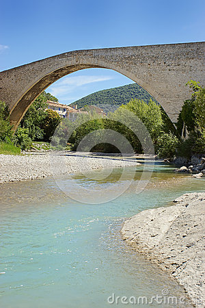 The Pont de Nyons, Provence, France