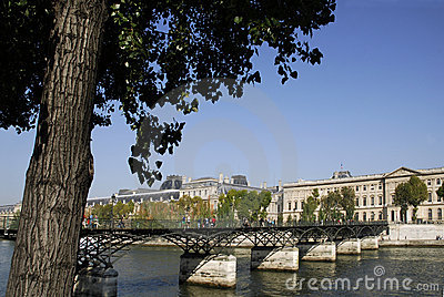 Pont Des Arts In Paris Stock Photo - Image: 11961340