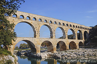 Pont du Gard Aquaduct, France