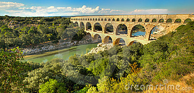 Pont du Gard, in France