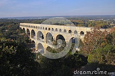 Pont du Gard Roman Aquaduct