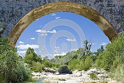 Pont Julien arch, provence