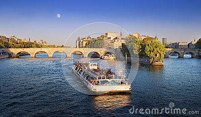 Pont Neuf. Editorial Stock Image
