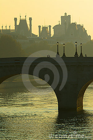 Pont Neuf bridge over the Seine, Paris