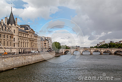 Pont Neuf and Chatelet Paris