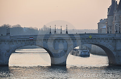 The Pont Neuf in Paris