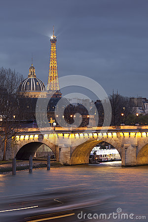 Pont Neuf in Paris Editorial Photography