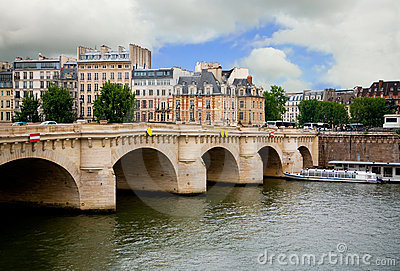 Pont Neuf, Paris, France Stock Image - Image: 9640501