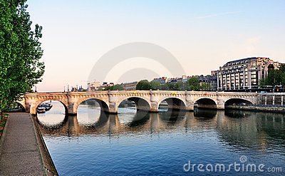 Pont Neuf and the river Seine, Paris