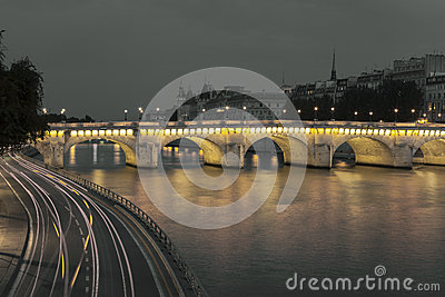 Pont Neuf and Seine, Paris