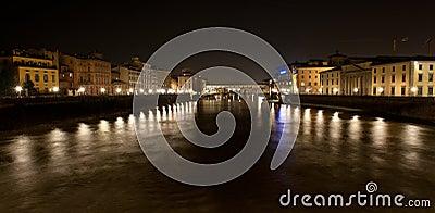 Pont Vecchio at night