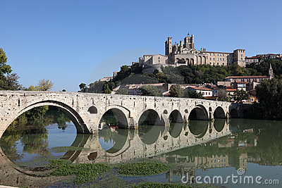 Pont Vieux in Beziers, France
