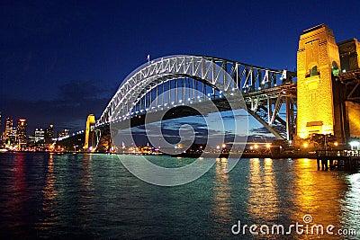 Ponte de porto de Sydney