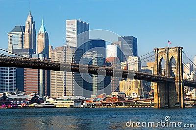 Ponte di Brooklyn New York City