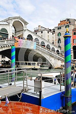 Ponte Rialto, Venice Editorial Photo