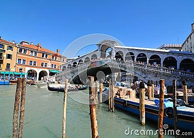 Ponte Rialto, Venice Editorial Image