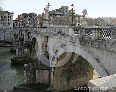 Ponte saint angelo in Rome
