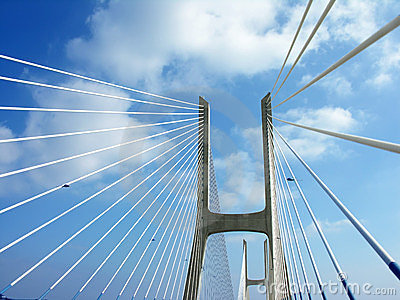 Ponte Vasco da Gama, bridge in Lisbon