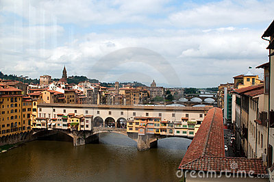The Ponte Vecchio Editorial Image
