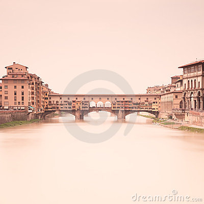 Ponte Vecchio Arno. Florence, Tuscany, Italy