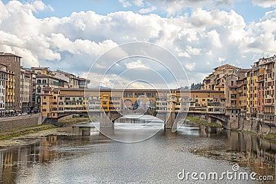 The Ponte Vecchio,Florence