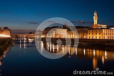 Ponte Vecchio and Palazzo Vecchio