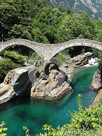 Ponti di Salti Valle Versazca Switzerland