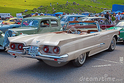 Pontiac Thunderbird Editorial Image