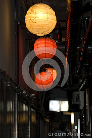 Pontocho quarter, Kyoto, Japan