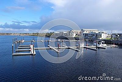 Pontoons in Marina