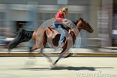 Pony express rides again