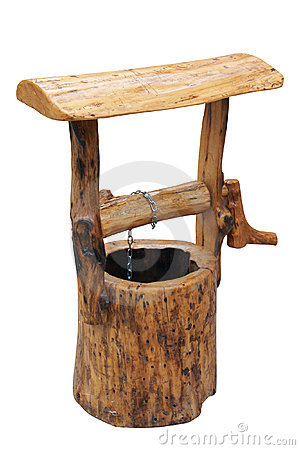 Poço de madeira